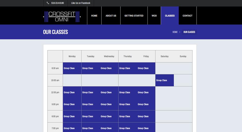 crossfit-schedule
